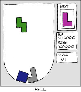 Tetris aus der Hölle