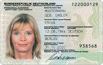 Erika Mustermann, * 12.08.1964