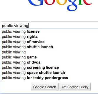 Suchvorschläge für »public viewing«