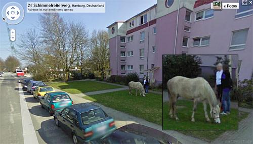 Google Street View: Schimmelreiterweg, Hamburg